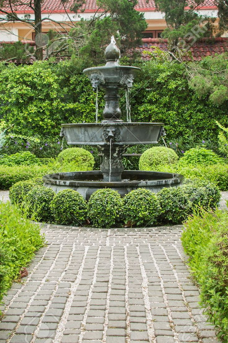 english garden fountains water features 107311 best Great Gardens & Ideas images on Pinterest
