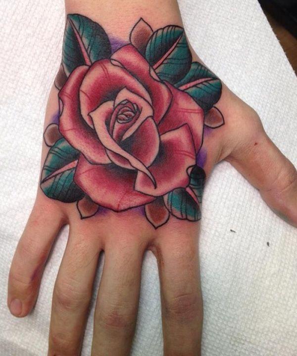 45+ Eye-Catching Tattoos on Hand | Cuded