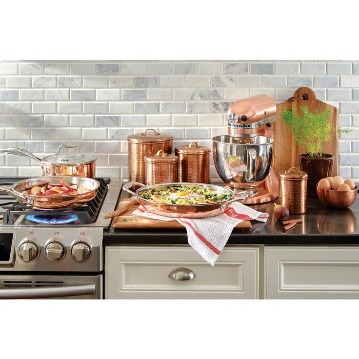 Kitchenaid custom metallic 5 qt 10speed satin copper
