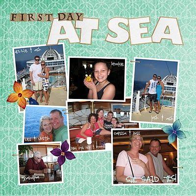 Cruise Scrapbook 2010