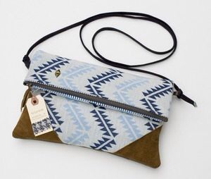 Clutch with straps