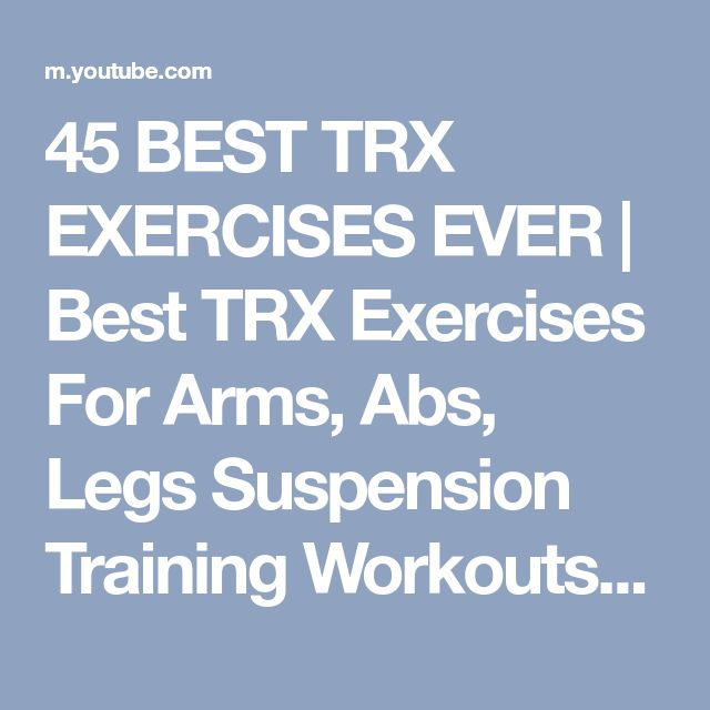 Trx Bands Workout Youtube: Best 25+ Suspension Training Ideas On Pinterest