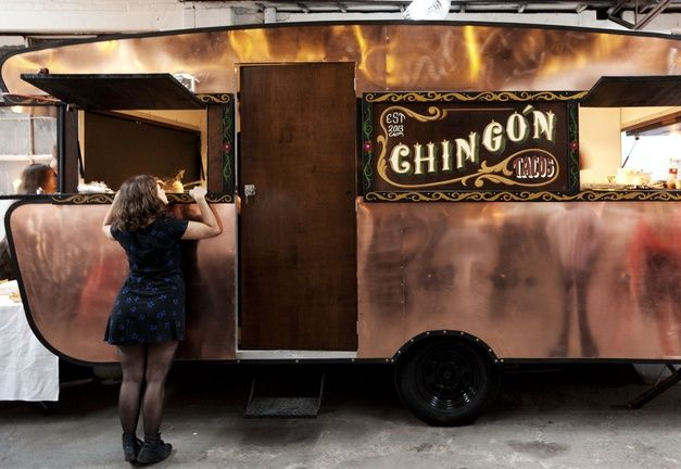 Trailer Park: A Food Truck Muster #ChinGon #foodtruck #copper