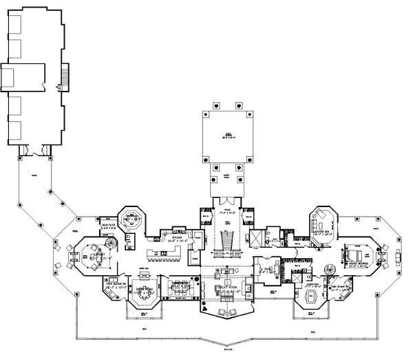 Pendleton Estate Luxury Floor Plan by Wisconsin Log Homes