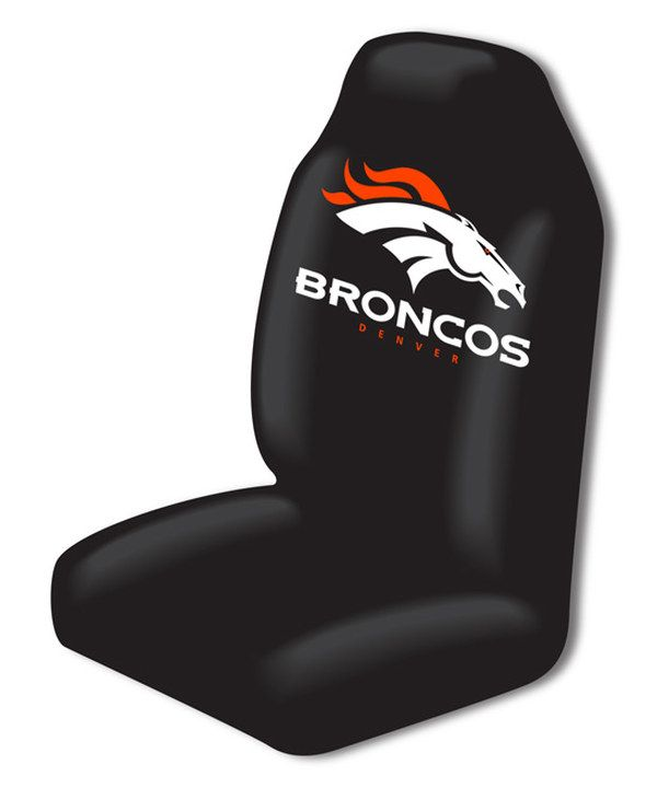 Look at this Denver Broncos Car Seat Cover on #zulily today!