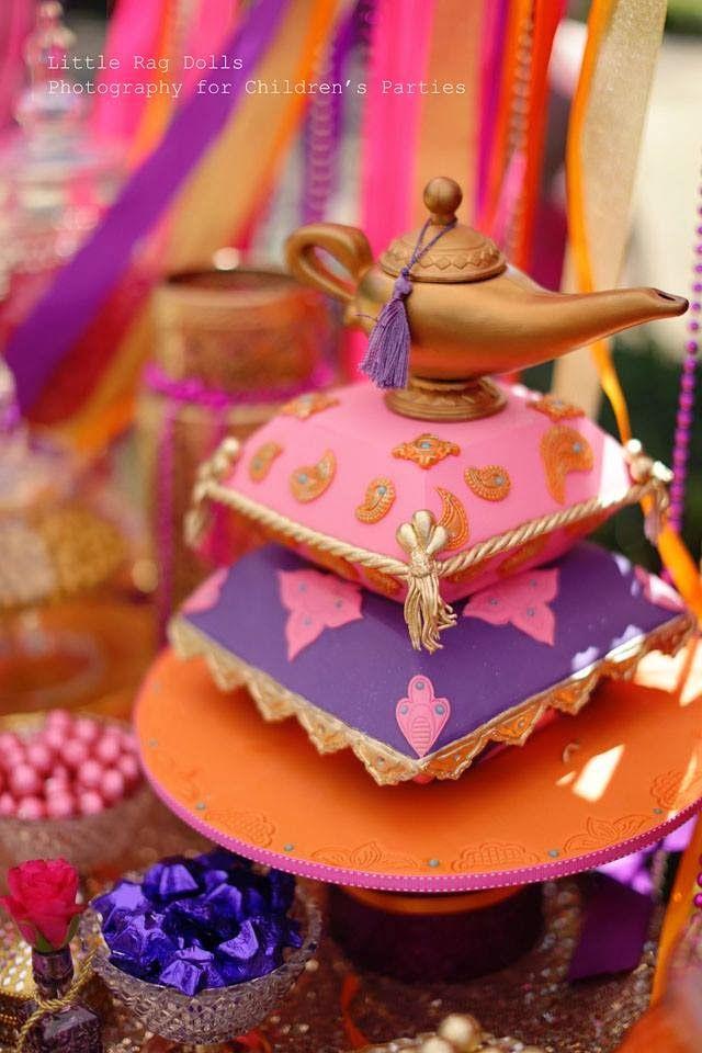 Turkish Belly Dancer Birthday Cake