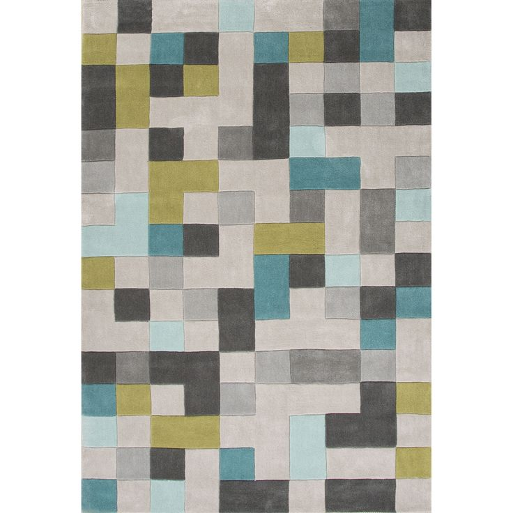 Fusion Collection Mason Rug in Wind Chime & After Dark By Jaipur