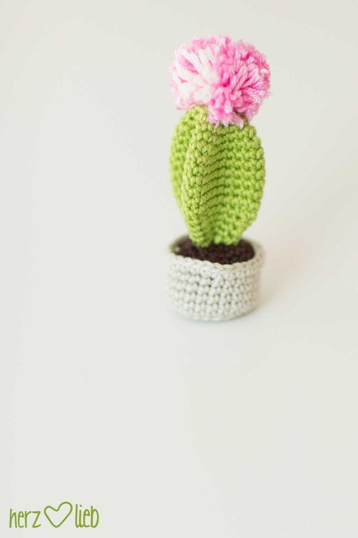one pin a week #7 – gehäkelter kaktus | herz-lieb