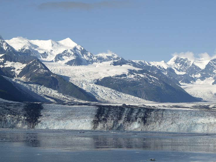 Harvard Glacier is the culminating glacier in Alaska's world famous College Fjord.  It is huge and it is breathtaking  The best way to see it is through a cruise ship or a day trip via boat from the little town of Whittier, Alaska.