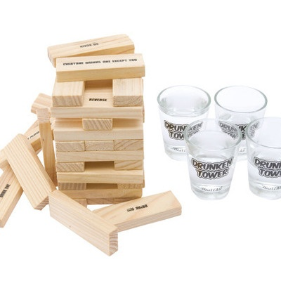 drinking jenga game for sale