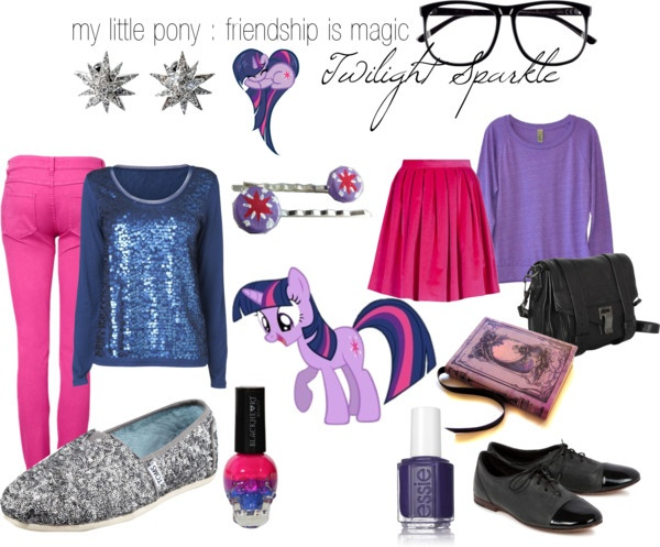 Twilight Sparkle (My Little Pony Friendship is Magic) Inspired Outfit