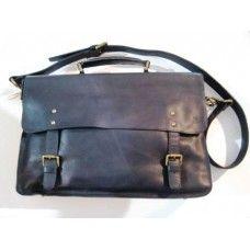 Boheme Leather Satchel, black $199.95 - A timeless leather satchel with smart brass hardware. #boheme #satchel #leathersatchel