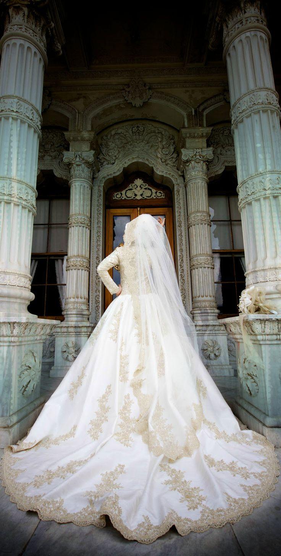 Turkish Muslim Bride