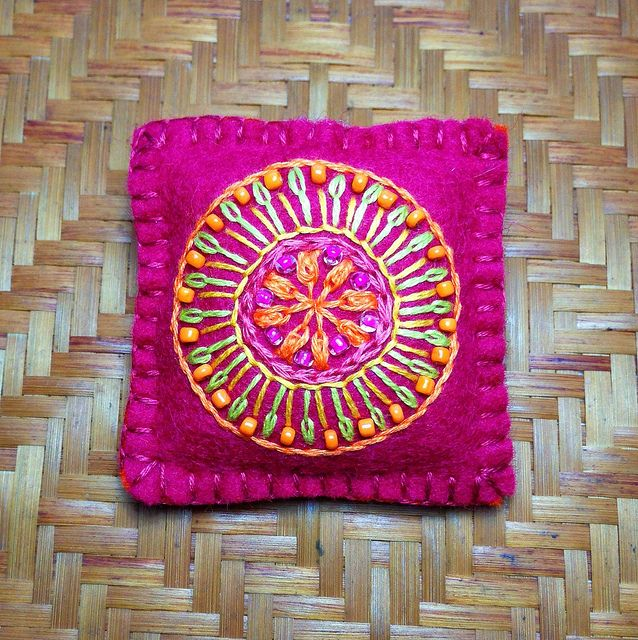 Embroidered Mandala | Flickr - Photo Sharing!