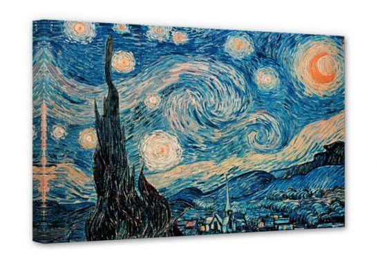 Stampe su tela - Van Gogh - Notte stellata 1889