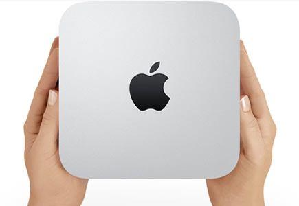 Este nuevo Mac mini vine con un procesador de cuatro núcleos el cual es hasta dos veces más rápido que el modelo de Mac mini de doble núcleo de su generación anterior.