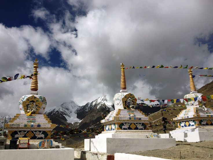 Kunzum La Pass at 4,590 meters in northern India