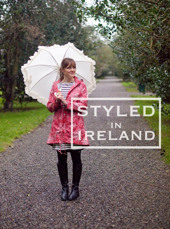 Styled in Ireland: What to wear in the Rain!