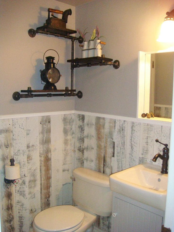 10 best images about stikwood on pinterest basement for Wood bathroom ideas