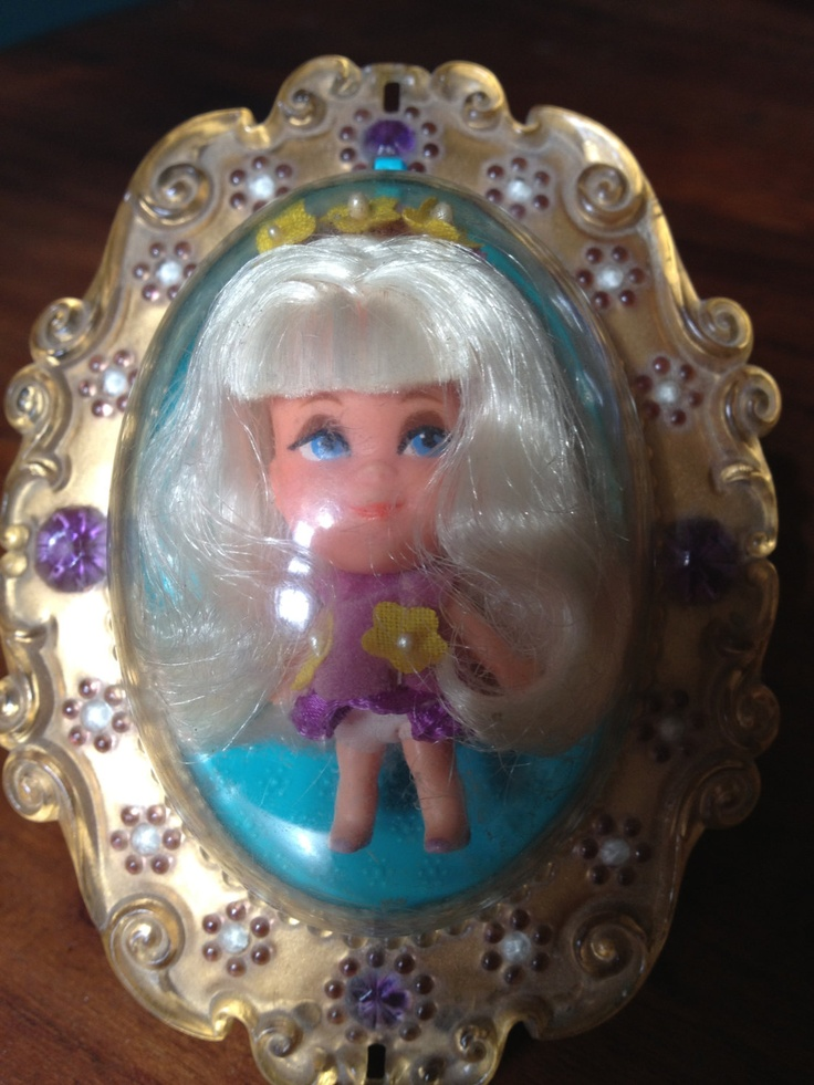 1966 Mattle Inc Retro Lucky Locket Kiddle Doll with by jesslee75, £21.50