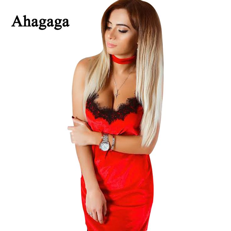Ahagaga 2017 Spring Summer Sexy Lace Dress Women Fashion Sleevelesee Sexy Club Party Elegant Sheath Dress Women Dresses Vestidos