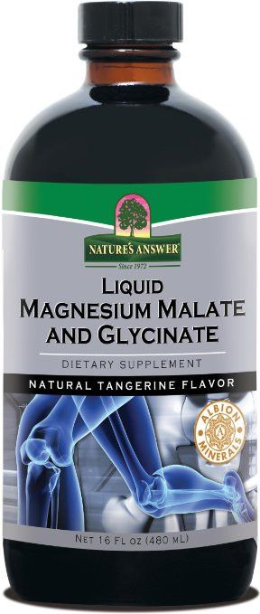 Nature's Answer Liquid Magnesium Malate and Glycinate, 16 fl oz