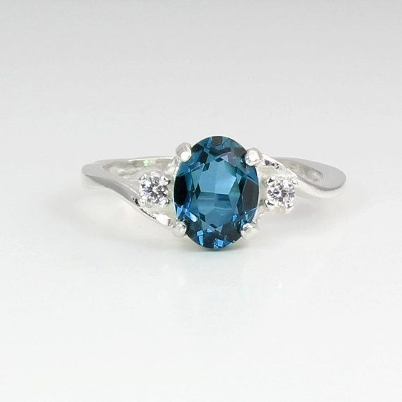 Hey, I found this really awesome Etsy listing at https://www.etsy.com/listing/160931355/genuine-london-blue-topaz-ring-sterling