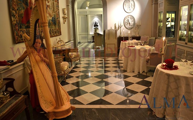 ALMA Project @ Four Seasons Hotel Florence - FSH - Harp arpa Palagio Valentine San Valentino