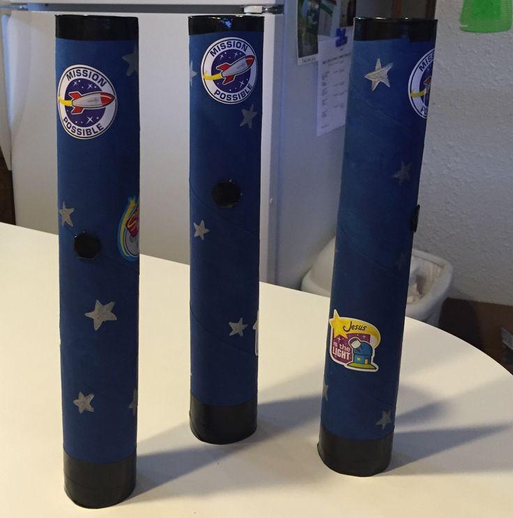 Paper Towel Rolls Telescope: 25+ Best Ideas About Telescope Craft On Pinterest