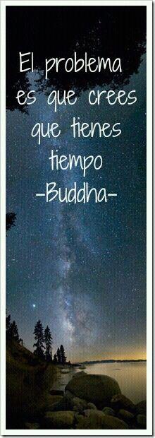 ¡No dejes para mañana lo que puedas hacer hoy! ♥