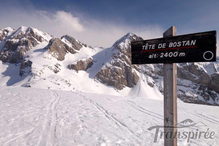 Ski de randonnée à la Tête de Bostan depuis l'Erigné et le Col de la Golesse  Tête de Bostan  Cela fait des années que je souhaite aller à la Tête de Bostan. Je suis venu plusieurs fois par le côté Suisse (Barme) dans la région. Je crois que j'avais même oublié que ce sommet existait encore ! Donc je corrige le tir, pour une virée hivernale. Mais cette fois-ci depuis le secteur de Morzine. Par danger d'avalanche à 3, cette sortie est idéale…