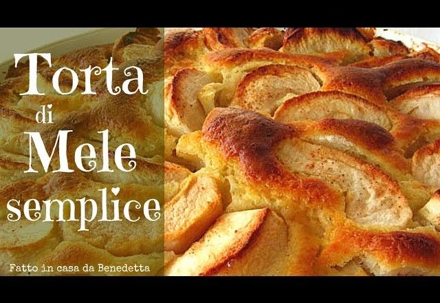 TORTA DI MELE SEMPLICE FATTA IN CASA DA BENEDETTA – Easy Homemade Apple Cake…