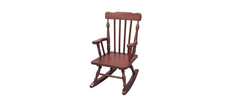 Kids Colonial Rocking Chair - Cherry  Rocking Chairs, Colonial and ...