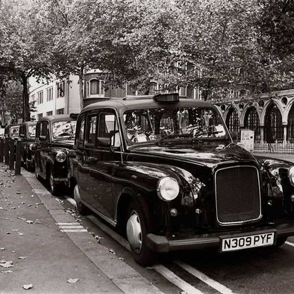 Black Taxis London..so much speeding fun!