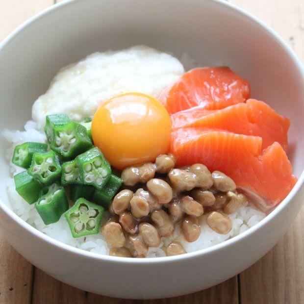 ネバネバで健康きれいに!カンタン美味しいばくだん丼レシピ ©美健Style