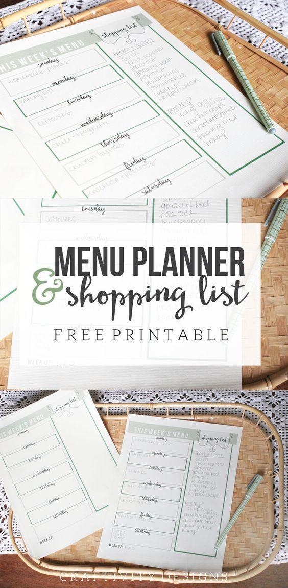 1000+ ideas about Menu Planning Printable on Pinterest ...