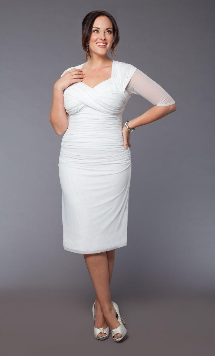Vestidos de novia para gorditas fotos y consejos vestidos for Plus size dress to wear to a wedding