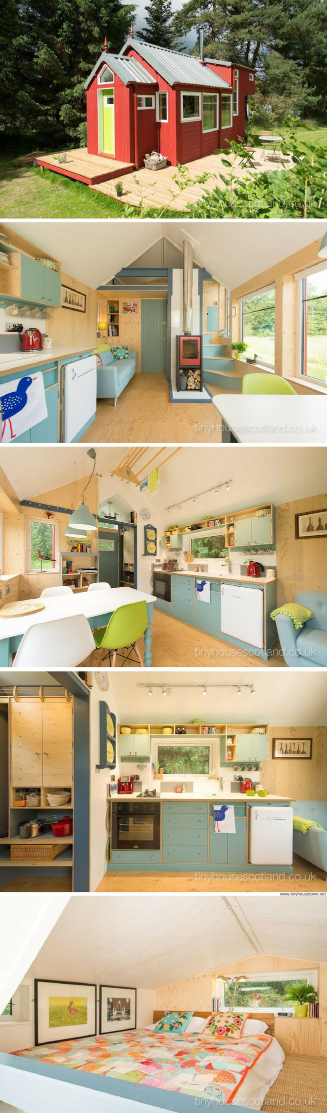 The NestHouse from Tiny House Scotland