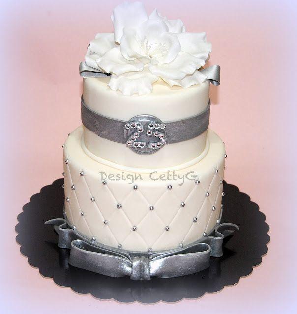 Bien connu Oltre 25 fantastiche idee su Torte di 25 ° anniversario su  PB93