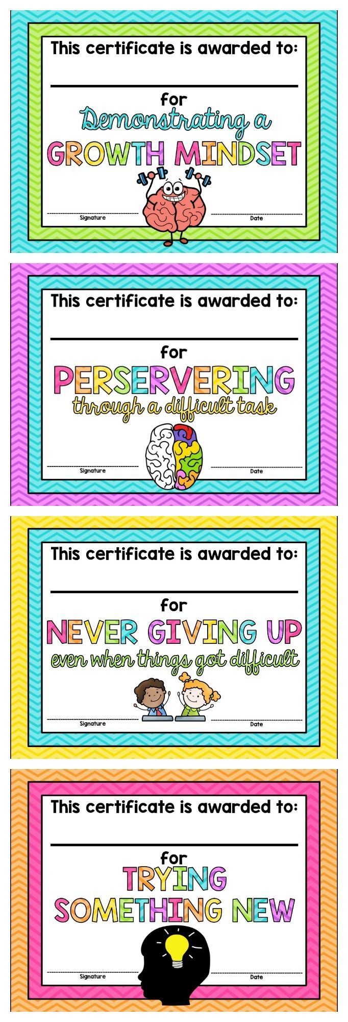 Best 25 certificate ideas on pinterest certificate design growth mindset certificates free alramifo Images