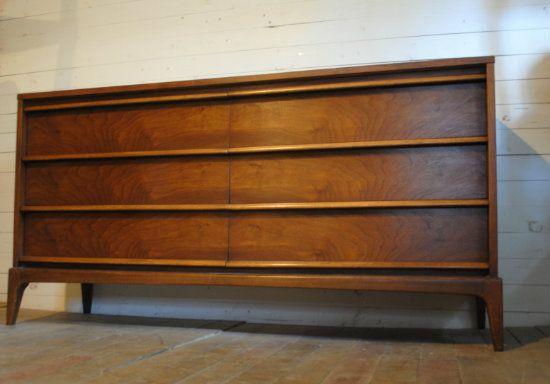 Mid Century Modern Six Drawer Dresser | Phylum Furniture