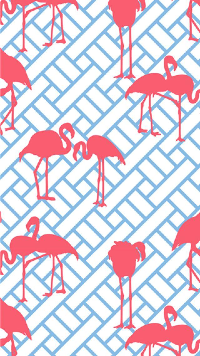 Flamingos iphone wallpaper