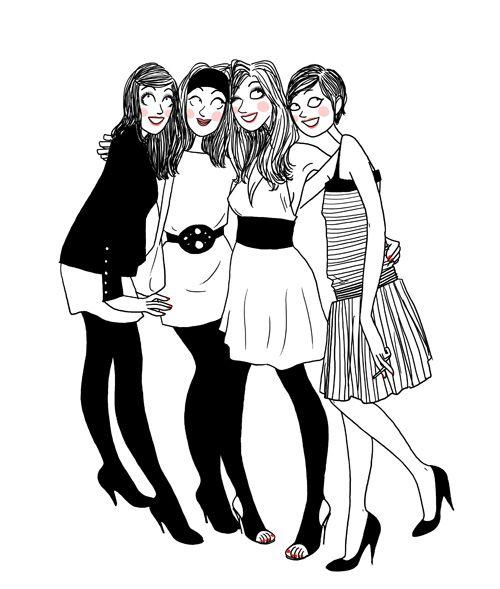 J'ai UNE chance tellement incroyable de les avoir toutes dans ma vie, de pouvoir prendre soin les unes des autres ❤️ de merveilleuses demoiselles d'honneur