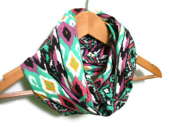 Navajo Infinity Scarf by dreamexpress on Etsy, $19.90