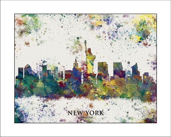 Hey, I found this really awesome Etsy listing at https://www.etsy.com/listing/177572077/new-york-skyline-new-york-city-skyline