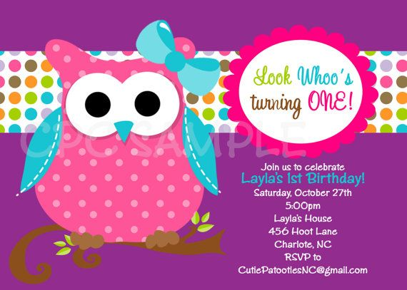 86 best corujas images on pinterest owls barn owls and cute owl owl birthday invitation owl birthday party by cutiestiedyeboutique 1500 solutioingenieria Gallery