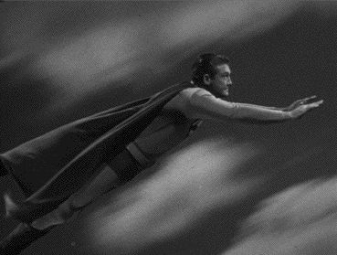 george reeves superman | Panic in the Sky: Impact!!!! (I modified the last few frames to ...