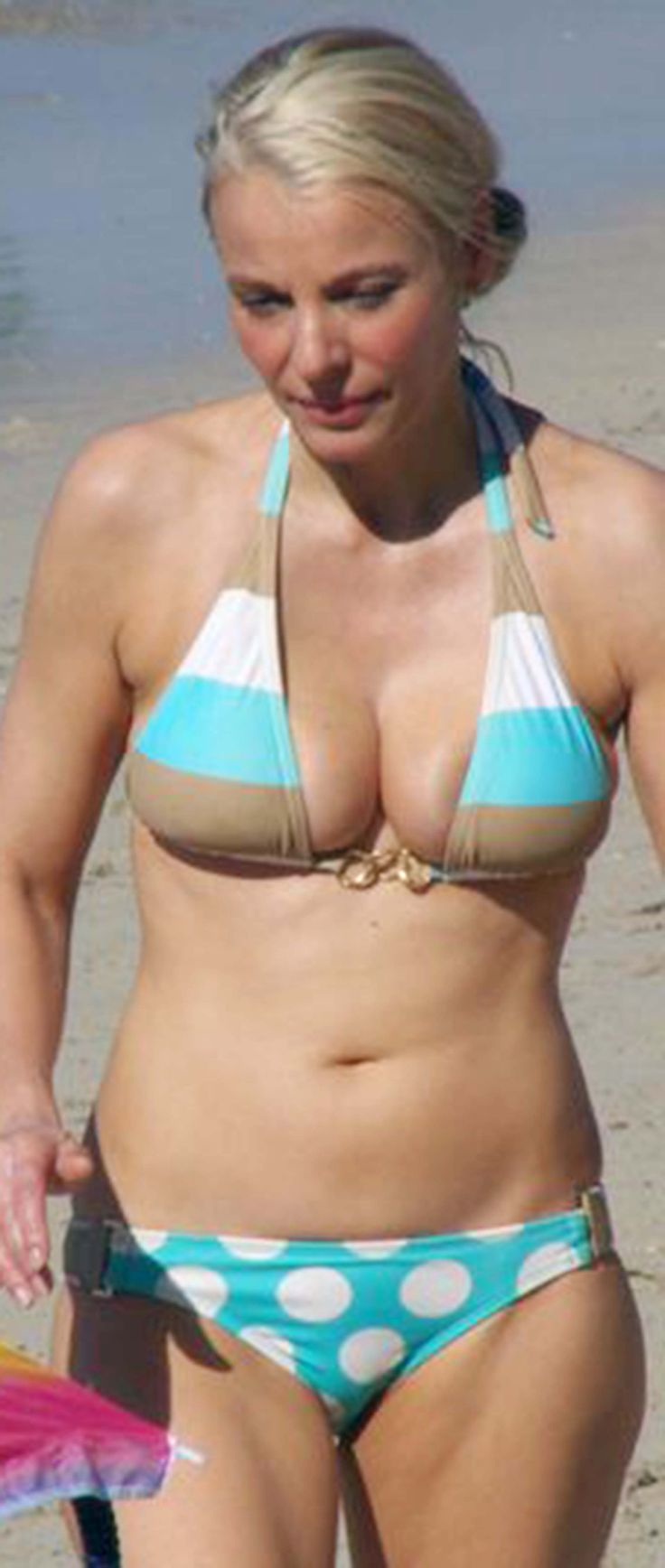 Mature women in swimwear