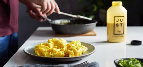 Just Egg Cracks The Substitute Category Wide Open Food Food Tech Vegan Egg Substitute