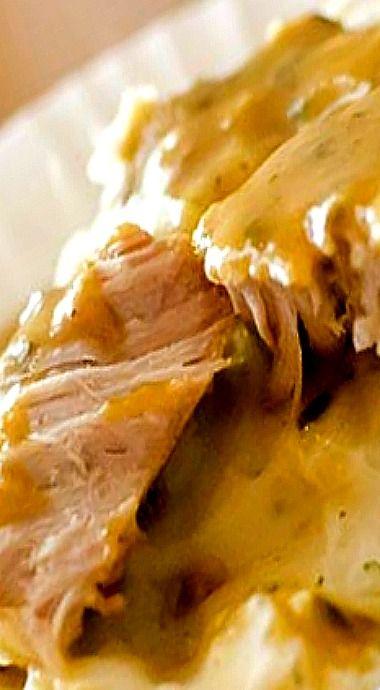 Crock Pot Ranch Pork Chops ❊